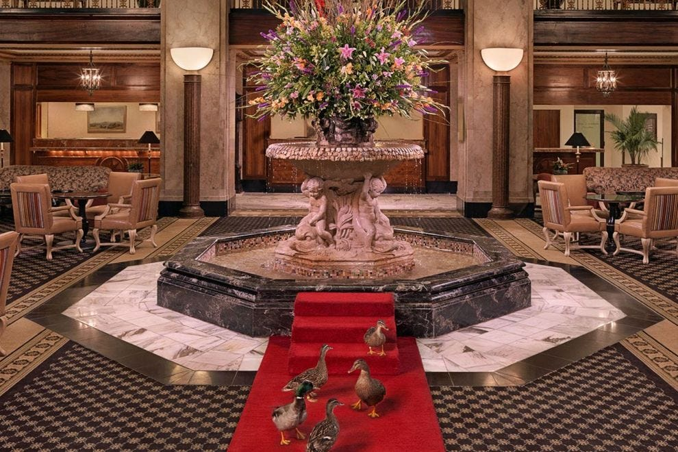 This is the third straight win for The Peabody Hotel