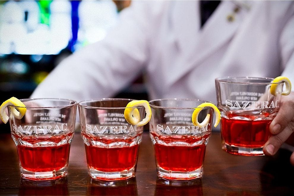 Winning bar gets its name from one of the first mixed drinks