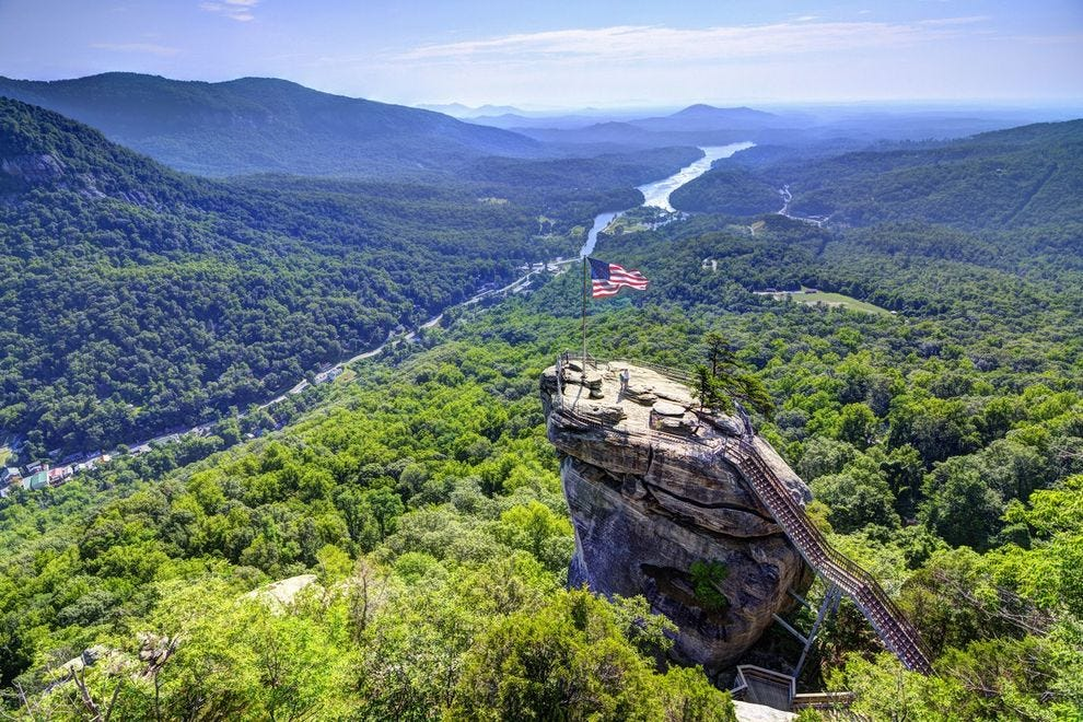 Chimney Rock State Park Peak