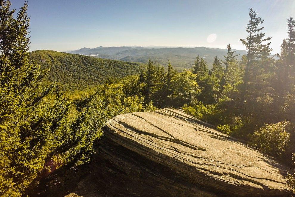 Trail to Calloway Peak
