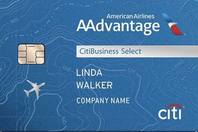 CitiBusiness / AAdvantage Select Card