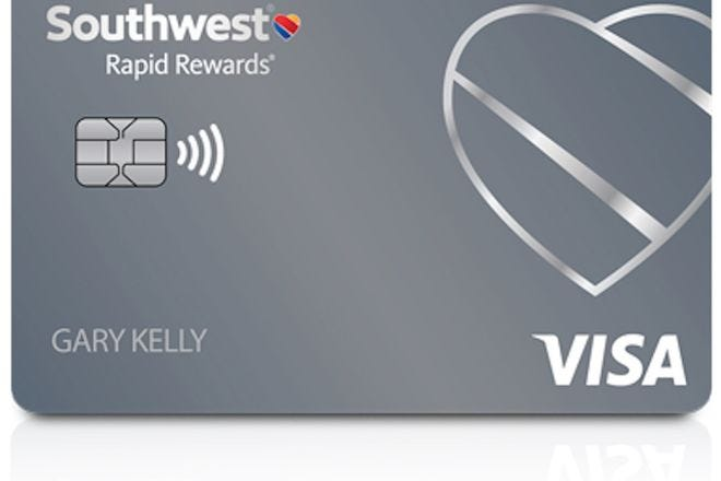 Southwest Rapid Rewards Plus Card