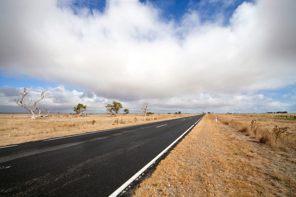 Road in the Outback