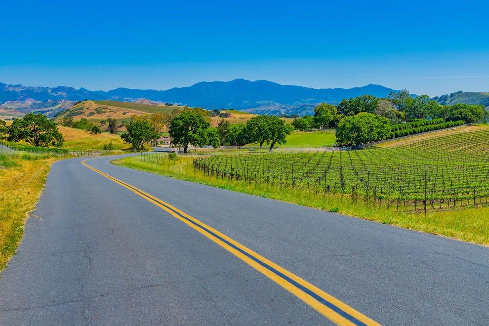 Highway near Santa Barbara