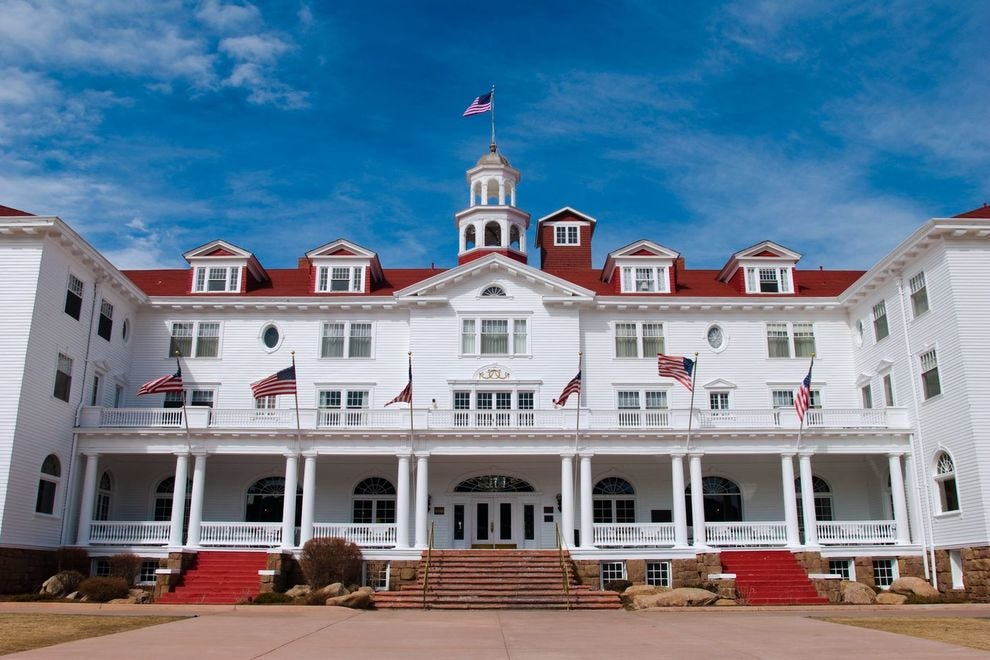 """Winning haunted hotel was featured in the film """"The Shining"""""""