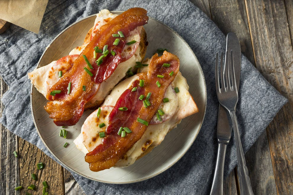 Another version of a Hot Brown