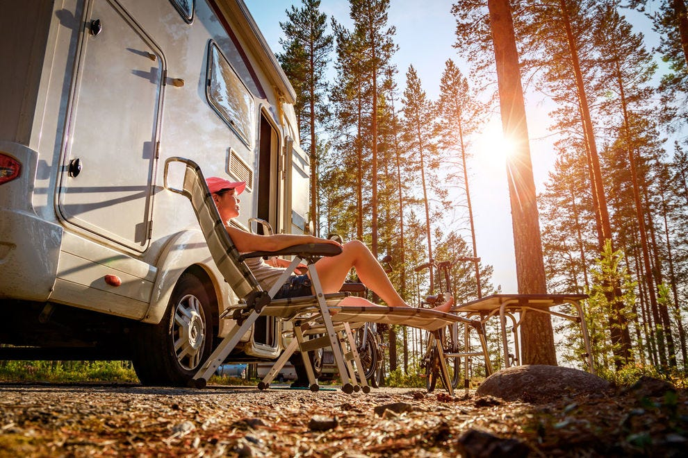 Rest your head amid beautiful scenery at these RV parks