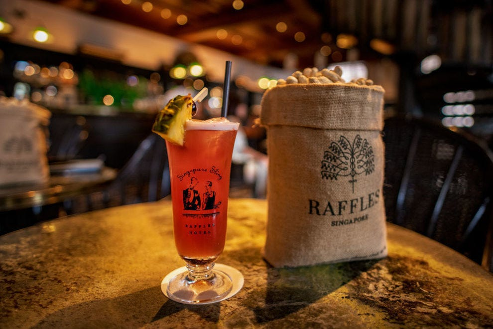 Raffles cocktail