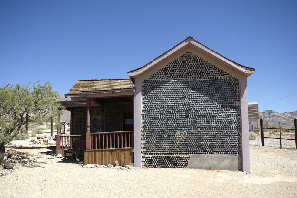 Bottle house on the outskirts of Rhyolite
