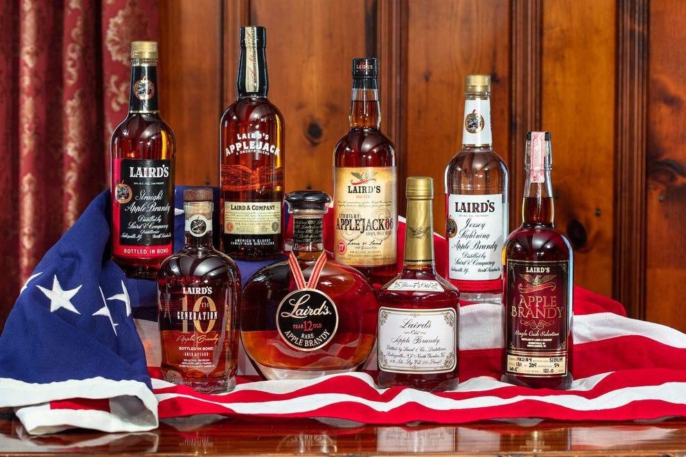 Winning distillery transforms Virginia-grown apples into a range of sipping brandies