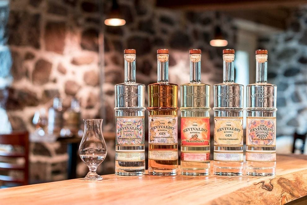 These winning gins feature flavors and aromas distinct to each season