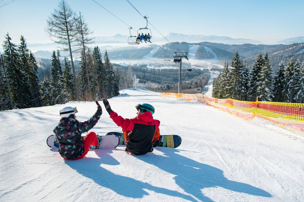 Hit the slopes at one of North America's best ski resorts