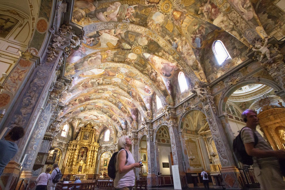 San Nicolás de Bari and San Pedro Mártir