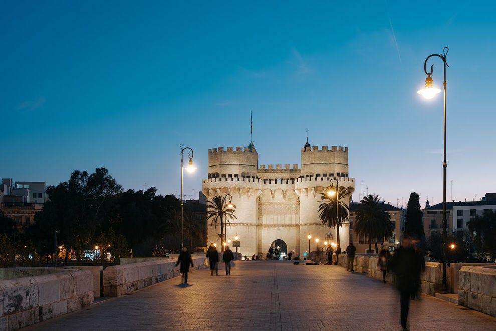 Serranos Towers