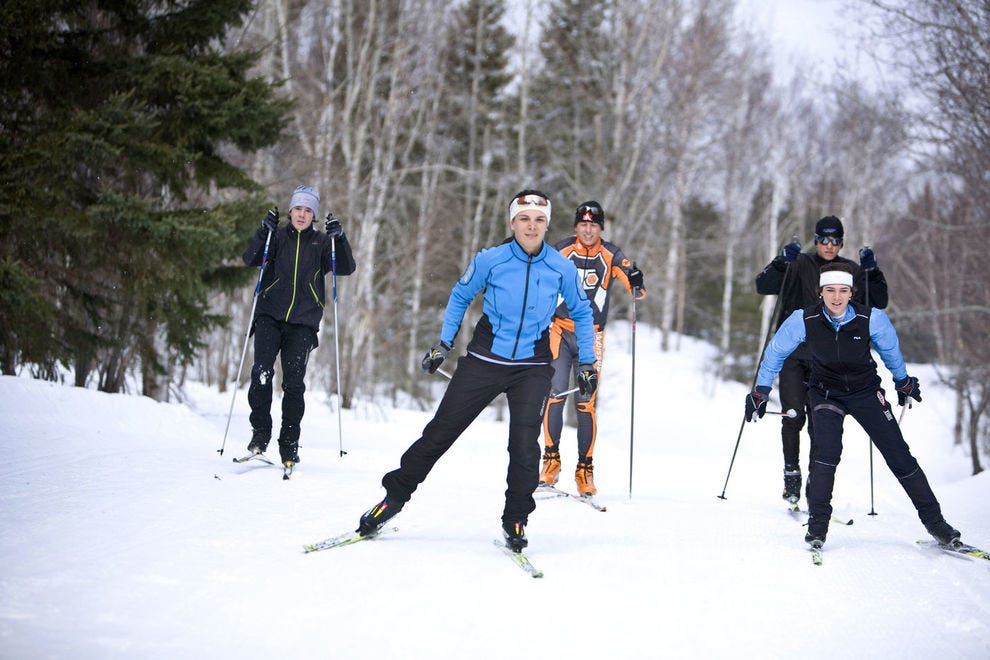 Mont-Sainte-Anne Cross-Country Ski Center