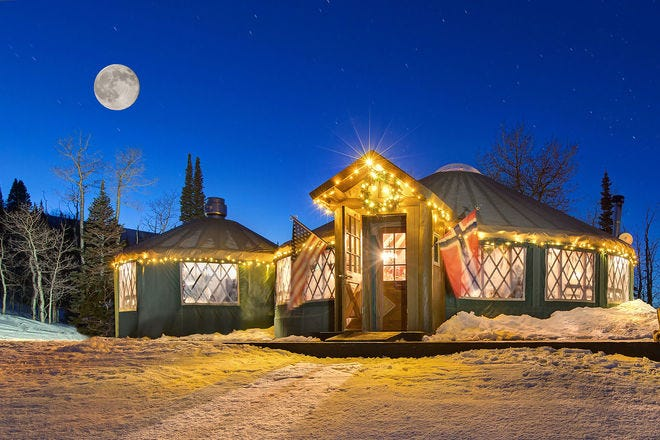 The Viking Yurt