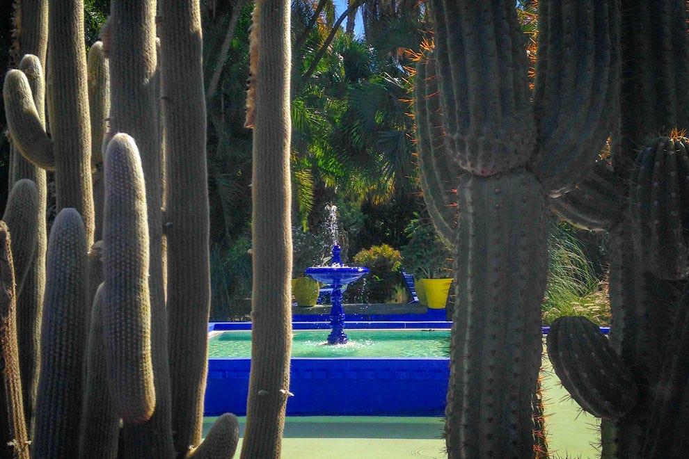 Jardin Majorelle fountain