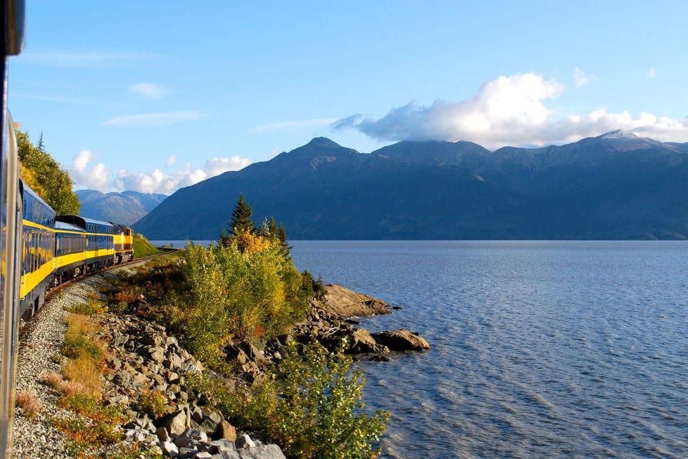 Alaska Railroad Turnagain Arm
