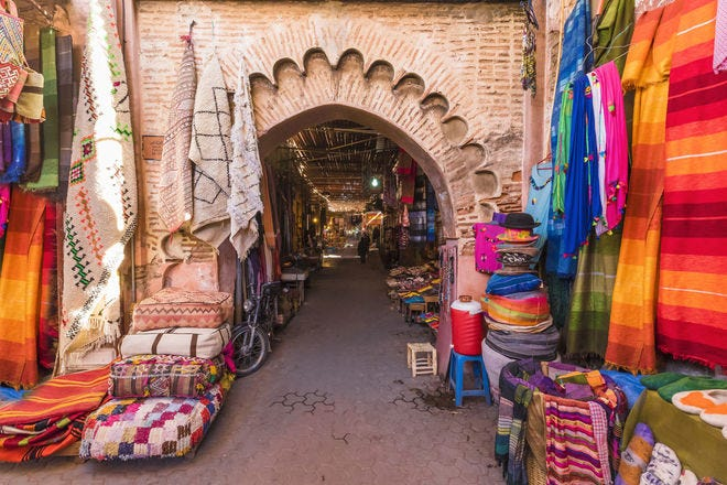 From souks to alleys: Virtual tour of stunning Marrakesh