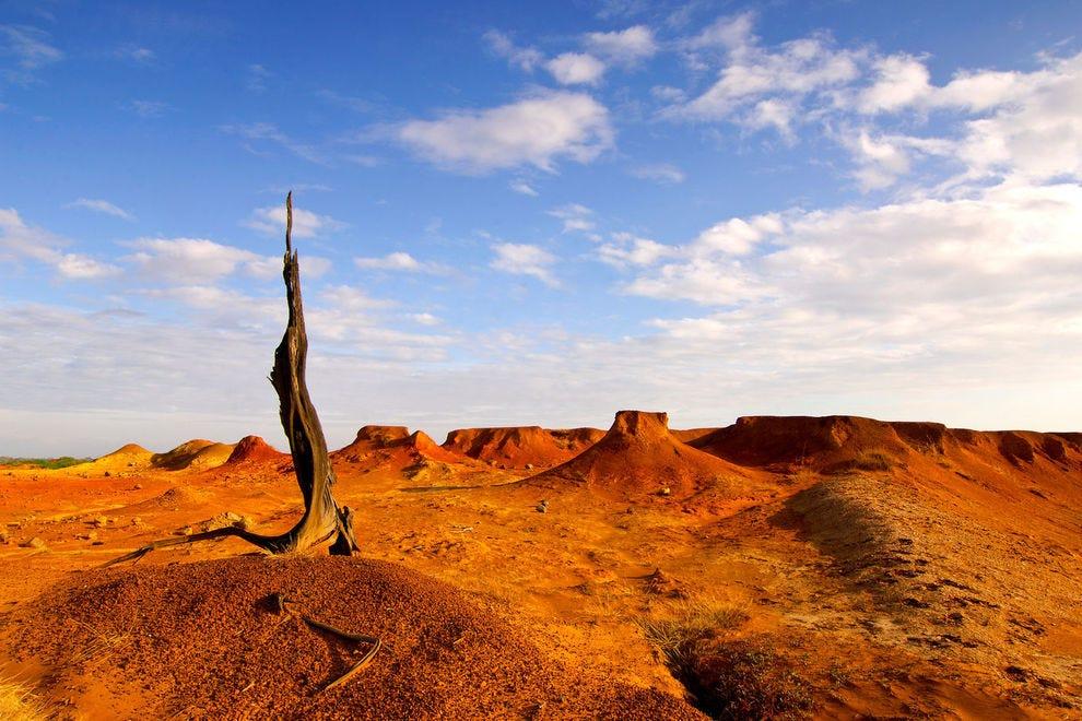 Sarigua National Park landscape
