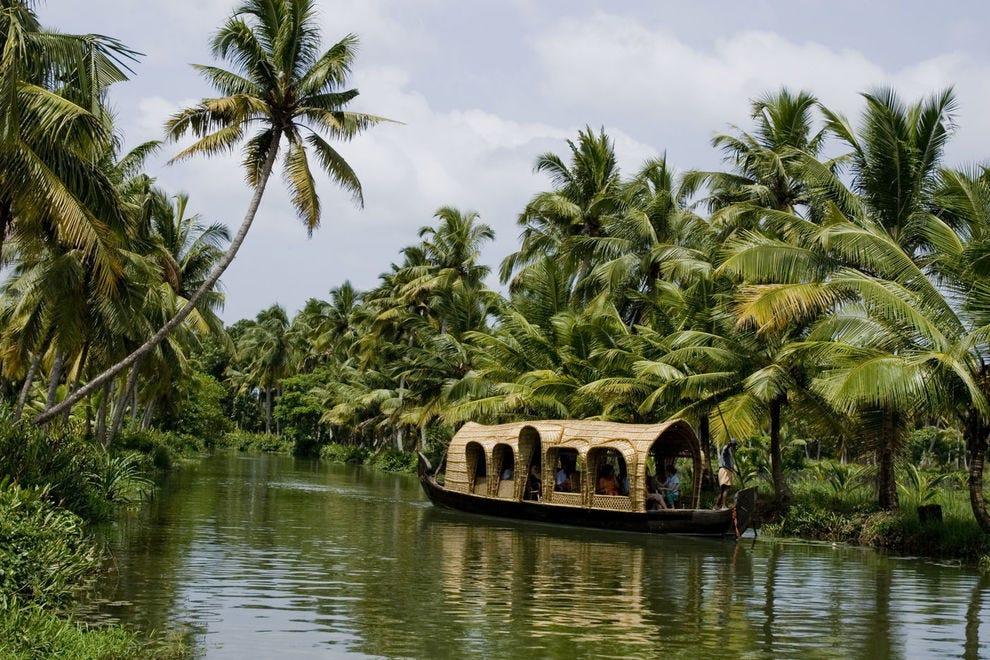 Houseboats in Kottayam