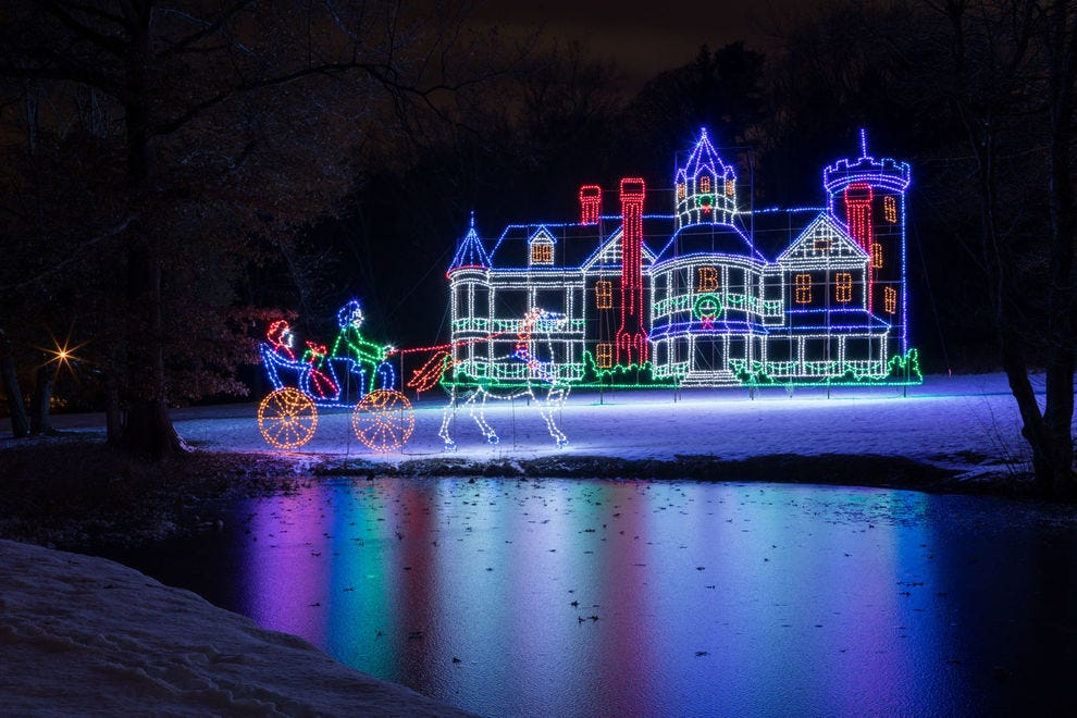 Christmas Lights In Ky 2021 Best Public Holiday Lights Display Winners 2020 Usa Today 10best