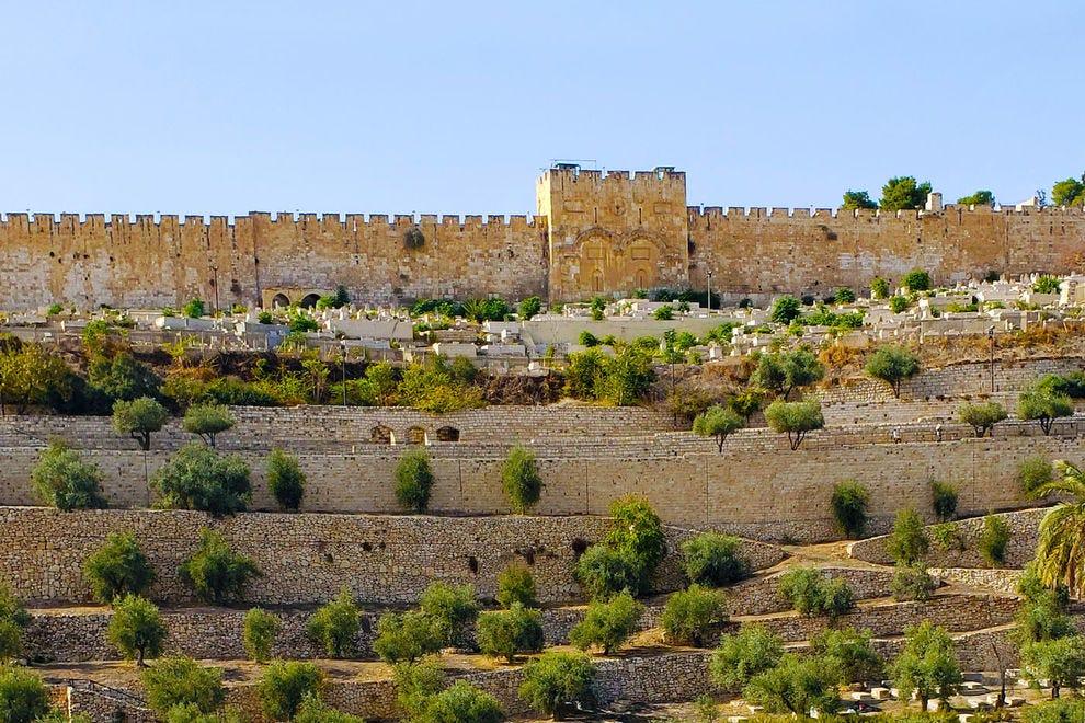 Walled city of Jerusalem