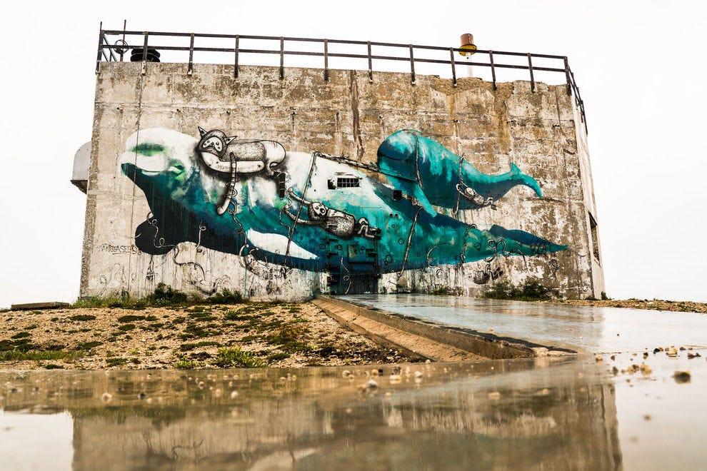 SeaWalls mural