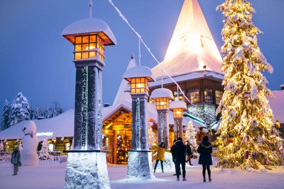 See Rovaniemi, Finland on this virtual tour