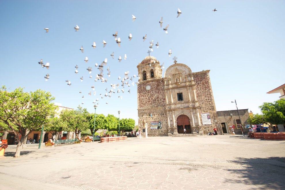 Iglesia en Tequila