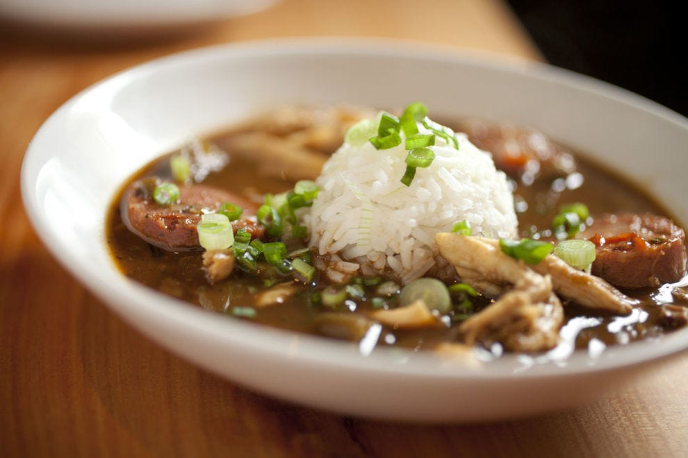 Gumbo is a soup so beloved in Louisiana, it has been designated as the state's official cuisine