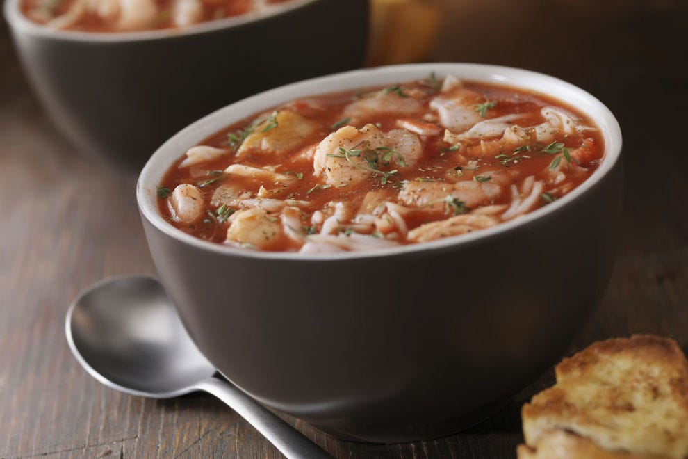 Crab soup brings together two of the most famous flavors of Maryland's Chesapeake: crab and Old Bay seasoning
