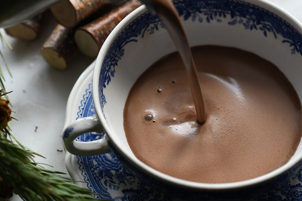 Every ingredient that goes into La Châtelaine Chocolat Co.'s hot cocoa was carefully and intently selected