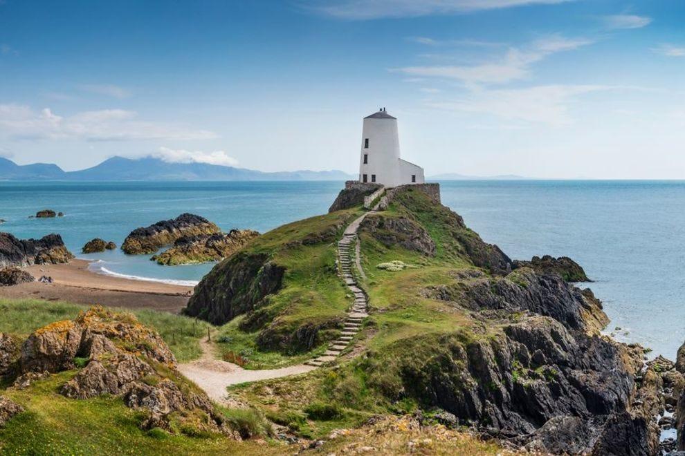 Llanddwyn Island in Wales