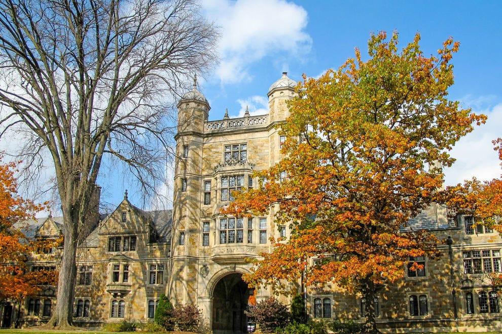 Law Quad at University of Michigan in Ann Arbor