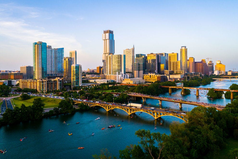 View of Austin, Texas skyline