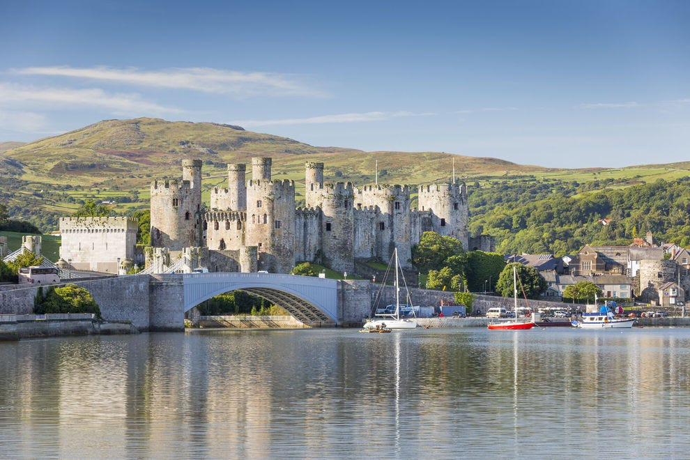 Castell Conwy/Conwy Castle