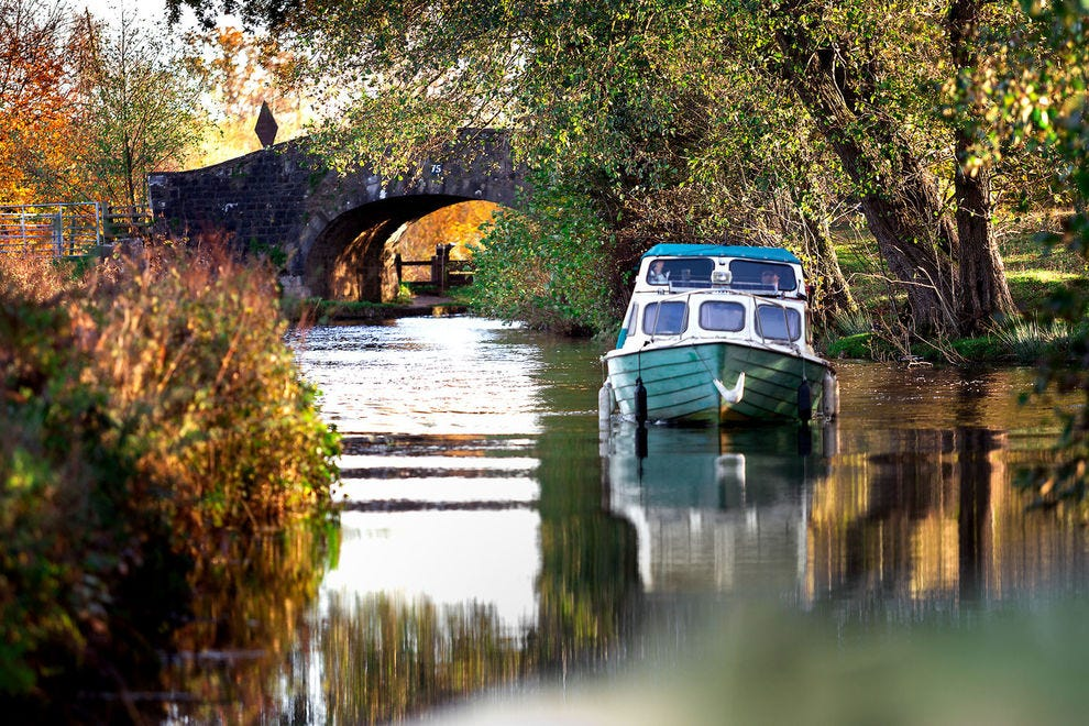 Monmouthshire & Brecon Canal, Wales