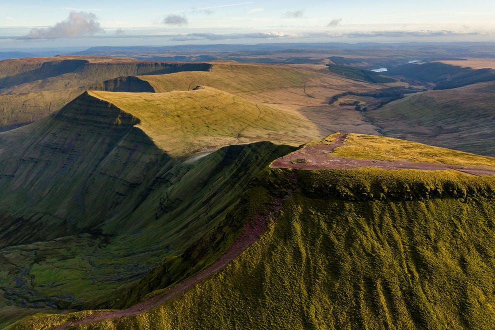 Pen-y-Fan, tallest peak
