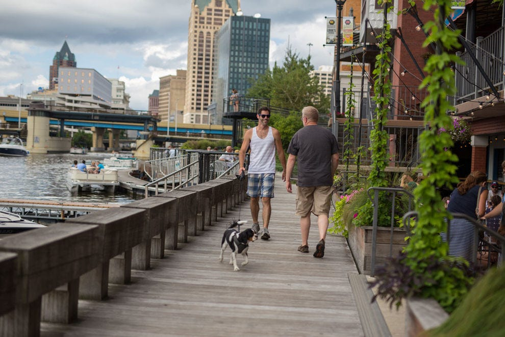 These cities make excellent use of their riverfronts