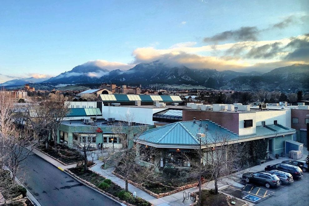 A view above Boulder