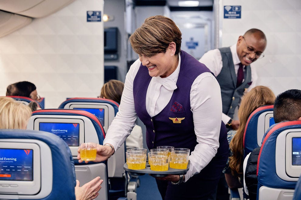 Service shines on Delta Air Lines