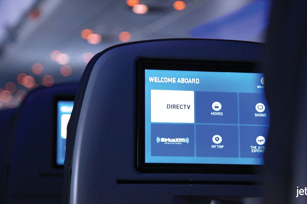 Passengers on JetBlue enjoy high-speed Wi-Fi from gate to gate