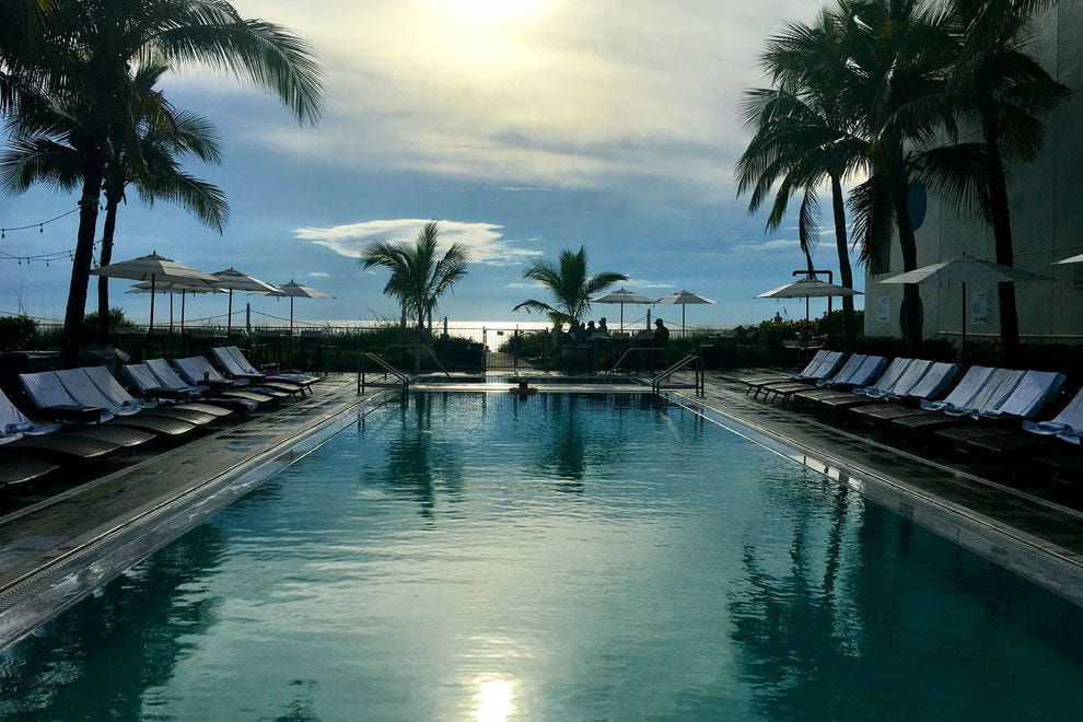 The view of the ocean at Gloria Estefan's Vero Beach resort