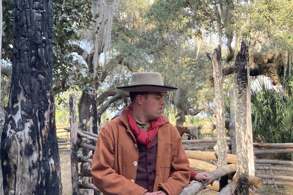 Florida cowboys at Lake Kissimmee State Park