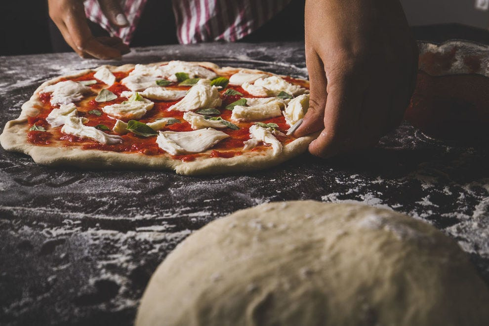 Fermentation is key to a crispy, chewy, tangy pizza dough