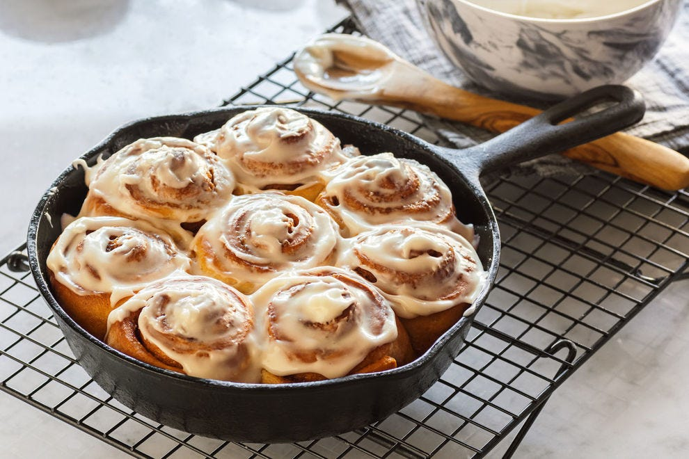 Adding sourdough starter to your cinnamon rolls can really add some pizazz to the cinnamon spice