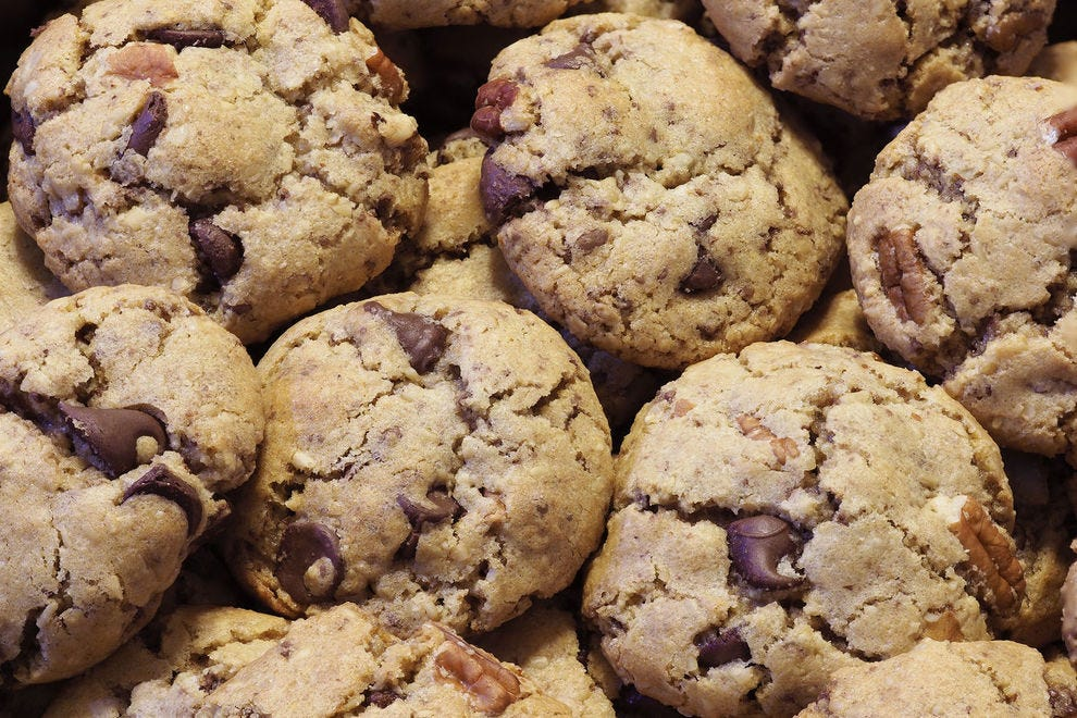 Adding sourdough starter to your chocolate chip cookies is challenging but so worth it