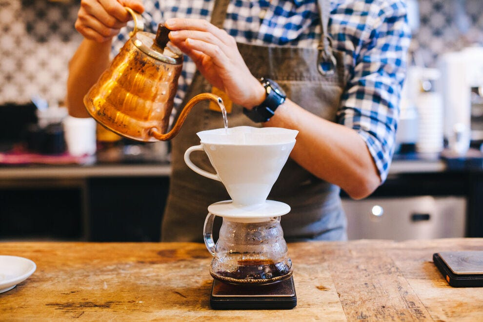 Get the best out of your coffee beans with the pour over method