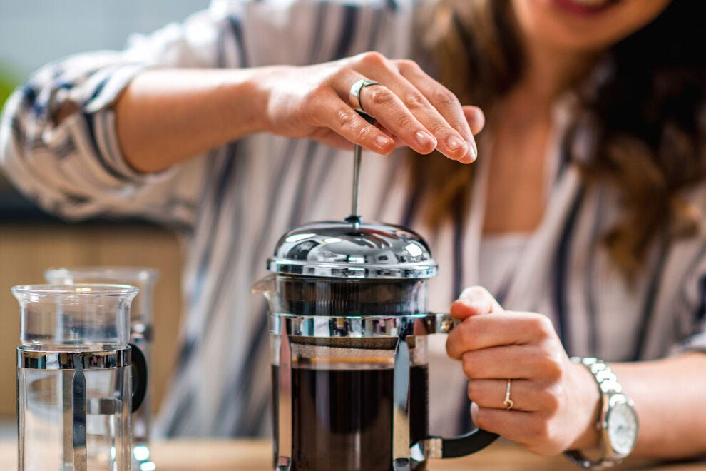 The French Press is...impressive!
